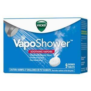 Vicks VapoShower Tablets 9 ct