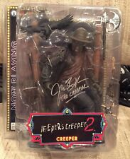 Jonathan Breck Jeepers Creepers Autographed Action Figure