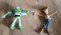 "5"" Toy Story Super Sonic Buzz Lightyear And Woody Collapsible Wind Up Toy."