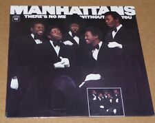 The Manhattans There's No Me Without You vinyl LP SEALED NEW cut out