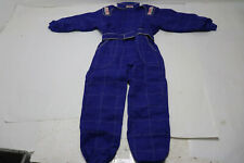 New G-Force 645 Karting Suit, Blue, Child's Large