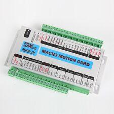 Mach3 USB 4 Axis Motion Control Card CNC Interface Breakout Board 400khz Mk4