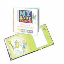 Livre de Naissance Souvenir Domiva My Baby Voice  premiers gazouillis 21 x 21 cm