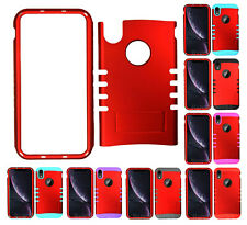 For Apple iPhone XR - KoolKase Armor Hybrid Slicone Cover Case - Red (R)