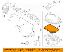 VOLVO OEM 2015 S60 Engine-Air Filter Element 31370161