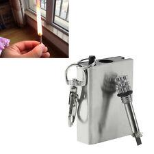 Emergency Fire Starter Flint Match Lighter Camping Instant Survival Tool NEW GT