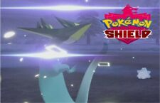 """SQUARE"" Shiny Dragapult 6IVs Pokemon Sword & Shield Pokemon w Master Ball"