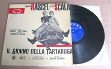 RENATO RASCEL, DELIA SCALA Il Giorno Della Tartaruga (1964) LP VINYL ALBUM