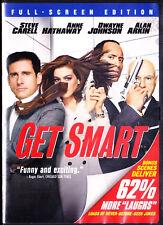 Get Smart (DVD, Fullscreen, 2008) The Rock, New Sealed
