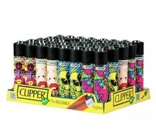 3x Psychedelic 2 Art Rare Clipper Lighters Unique Funny Cool Clippers Lighter UK