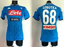 Lobotka Napoli maglia indossata Tim Cup WINNER 2019 2020 match worn shirt BENCH
