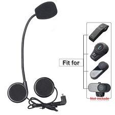 Helmet Mic Speaker Earphone for FDC BT Bluetooth Motorcycle Interphone Headset