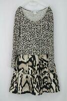 Diane Von Furstenberg Leopard Print Dress UK 8/ EU 36/ US 4