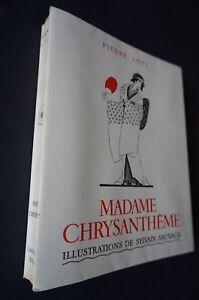 Madame Chrysanthème de Pierre Loti illustré par Sylvain Sauvage