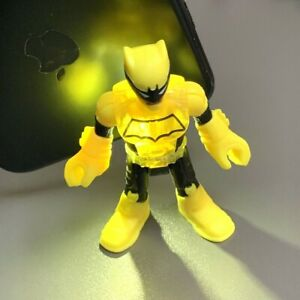 RARE Imaginext DC Super Friends figure BATMAN DUKE THOMAS comics heroes 2.5''