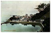 Antique colour printed postcard Inveraray Loch Fyne Scotland