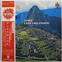 TRIO LOS DELFINES / ECOS DE LOS ANDES / LATIN / ORFEON / TEICHIKU JAPAN OBI