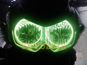 RGB LED halo rings for kawasaki NINJA 250R 08-12 Ninja 650R EX-6 06-17 angel DRL