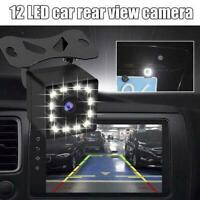 12LED HD 170°Car Rear View Camera Auto Parking Reverse Night Camera Backup T0C4