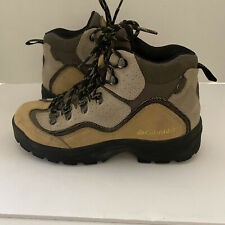 New listing Columbia Rock Ridge Hiking Outdoor Boots, Men's size 7 Tan Suede Shoes