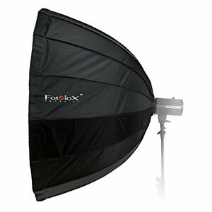Fotodiox Deep EZ-Pro 48in 120cm Parabolic Softbox - Quick Collapsible Softbox...