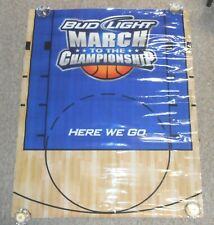 Bud Light March to the Championship 2011 Sticker Poster 45x36 Huge Rare Banner