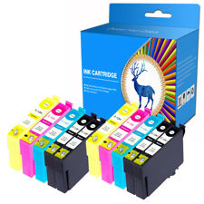10 Ink Cartridges fits For EPSON S22 SX23 SX235W SX425W SX435W SX620FW SX440