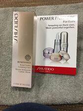 New Shiseido Benefiance extra creamy cleansing Foam 125mL+Free Sample