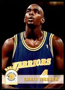 1993-94 Hoops #341 Chris Webber RC WARRIORS *49