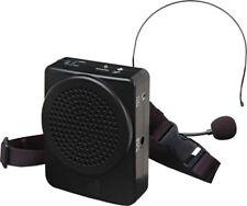 Casse Amplificata Portatile con Microfono ad Archetto Nero Karma BM 536B