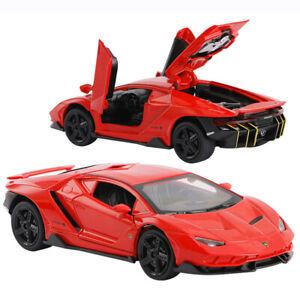 1:32 Lamborghini Centenario LP770-4 Supercar Model Diecast Toy Pull Back Red Kid