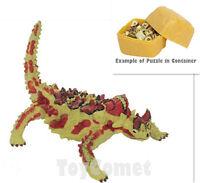 Giant Eland Endangered Animals 4D 3D Puzzle Egg Realistic Model Kit Toy