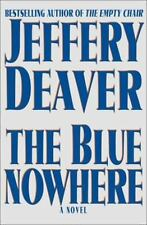 Jeffrey Deaver - The Blue Nowhere - SIGNED - 1st Edition - 2001