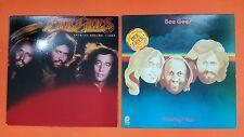 BEE GEES Spirits Having Flown & Monday's Rain 2 Lot LP Vinyl VG++ Cover VG+