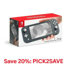 Nintendo HDH-001 Switch Lite - Gray, 20% off: PICK2SAVE