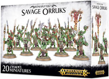 Warhammer Age of Sigmar Bonesplitterz Savage Orruks GWS 89-19