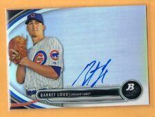 2013 Bowman Platinum Barret Loux Autograph Chicago Cubs