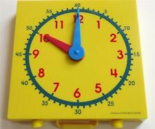 "Learn to Tell Time Clock 5"" Math Teacher Resource Homeschool Learn to Tell Time"