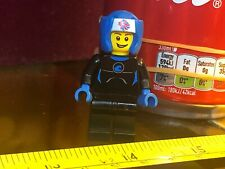 OLYMPIC BLUE BOXER FEMALE Lego Man Mini Figure Official Toy Minifigure