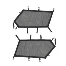 UTV Pair L & R Window Nets Safety Protective Net for Can-Am Maverick X3 2017-19