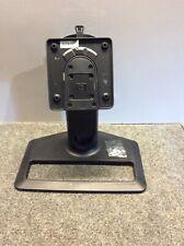 HP ZR22w  Monitor Genuine Black Stand Complete Base Mount w/ screws - Nice