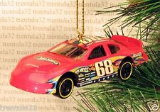 DODGE CHARGER STOCK Car CHRISTMAS ORNAMENT Red Race racing XMAS
