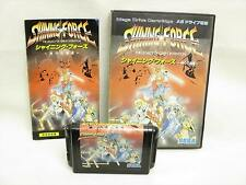 SHINING FORCE Kamigami no Isan Item ref/ccc Sega Mega Drive Import Japan Game md
