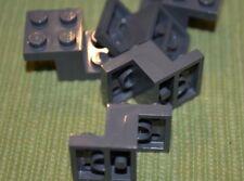 (4) Dark Gray 2x3x1 Plate Elevation Rise Bricks Brick ~ Lego NEW Star Wars