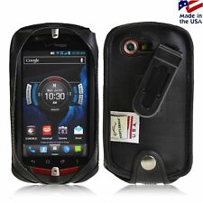 Turtleback Casio G'zOne Commando 4G LTE C811 Fitted Phone Case with Black Clip