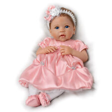 Ashton Drake Pretty As A Princess So Truly Real Baby Girl Doll by Linda Murray
