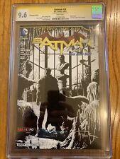BATMAN # 23 CGC 9.6Convention  VARIANT COVER Signature Series Gary Frank New 52