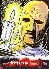 Hammer Horror Series 2 Sketch Card drawn by Gary Ochiltree /3