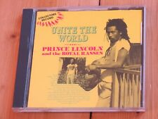 PRINCE LINCOLN and the Royal Rasses: Unite the World (roots reggae CD)