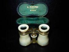 Antikes- Opernglas –Fernglas-Messing-vergoldet-GRAZ-1900-30